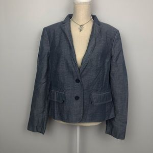 Ann Taylor Blue Blazer Size 16